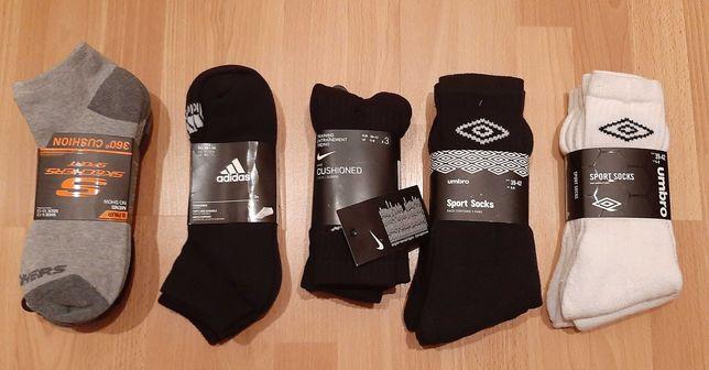 Носки Adidas cushioned crew (Nike,Umbro) 3 пары M-L оригинал