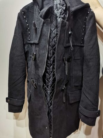 Płaszcz pikowany męski L nowy! Ciekawy design OKAZJA