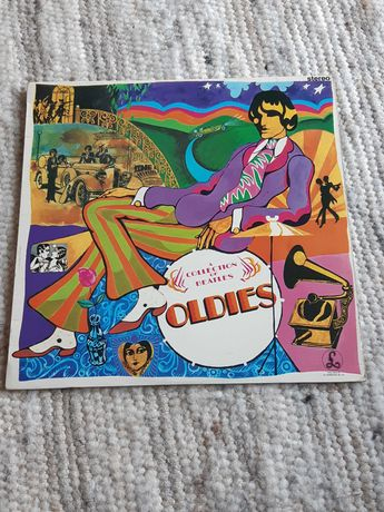 UNIKAT The Beatles LP A Collection of Oldies ONE EMI BOX winyl