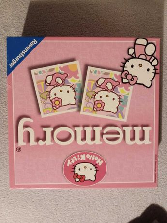 Gra edukacyjna dla dzieci Memory Hello Kitty