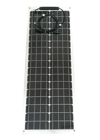 Panel słoneczny elastyczny flex 50W kamper kempingowa