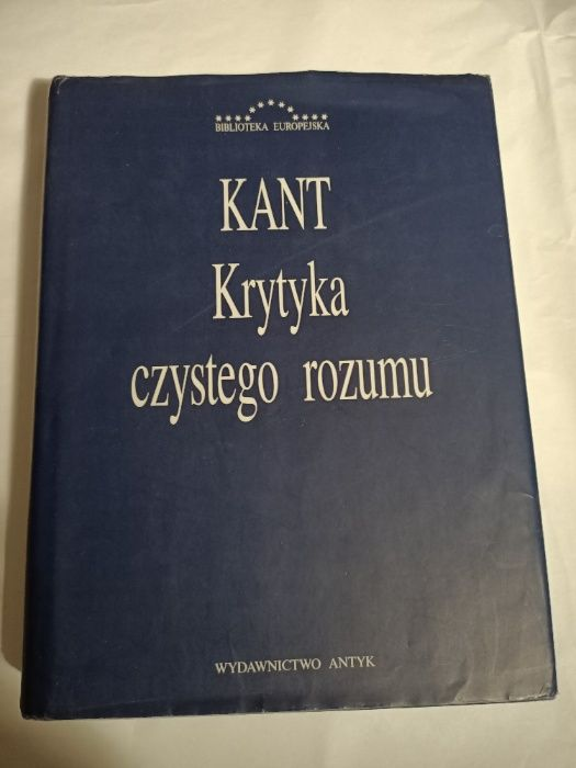 Krytyka czystego rozumu, Immanuel Kant Katowice - image 1