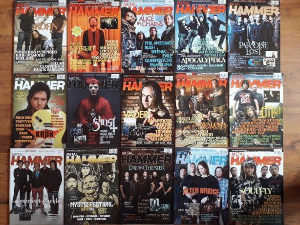 польские журналы о рок музыке METAL HAMMER