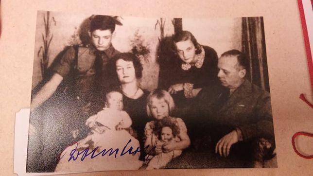 Waffen SS Rudolf Ribbentrop autograf Panzerwaffe