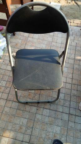 Krzesła składane metalowe,na balkon,taras