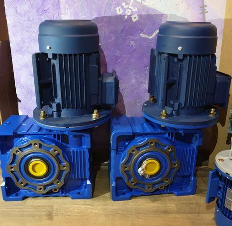 Мотор - редуктор NMRV НМРВ електродвигун двигун 4АМ АИР 4А двигатель