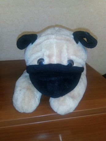 Мягкая игрушка, Собака в лежачем виде, как подушка)