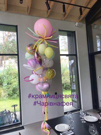 Шарики с гелием, мегабукеты, тренд 2020, Киев, Вышгород, Хотяновка