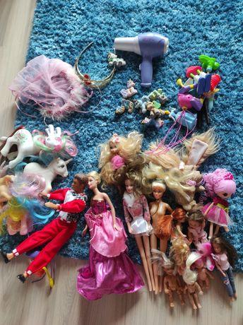 Barbie zestaw Ken koniki filly korony zestaw zabawek