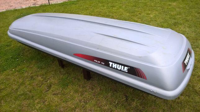Thule dachbox Polar 700 kufer bagażnik zamykany