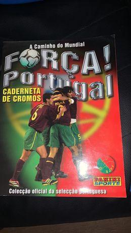 Forca portugal caderneta