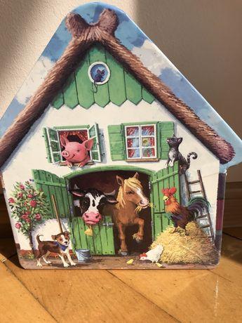 Puzzle wiejskie zwierzeta