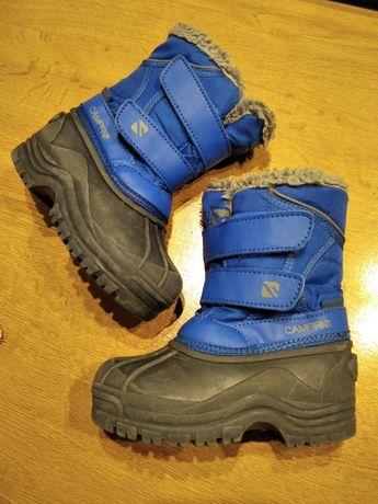 Śniegowce Campri chlopiece ocieplane buty zimowe wodoodporne r. 25