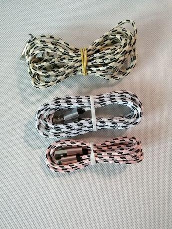 Zestaw 3 kabli do iPhone