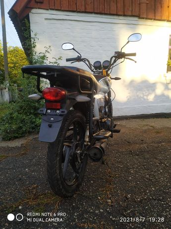 Мотоцикл Forte rx 125 2020