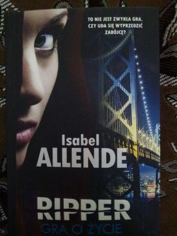 Книга на польском языке Ripper. Игра не на жизнь Изабель Альенде