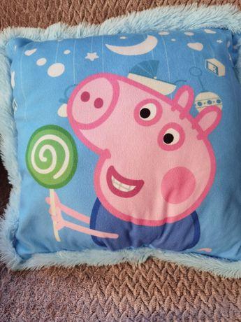 Подушка с изображением свинки Пеппы. Декоративня подушечка.