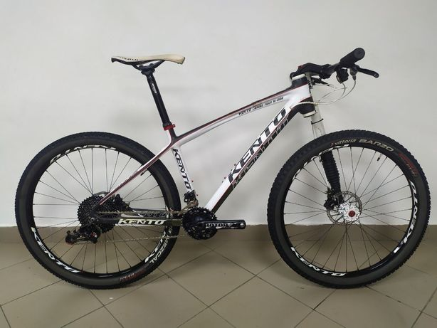Кантрійний гірський велосипед Kento, карбон, летфі, Lefty