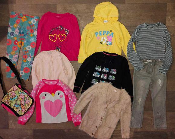 Пакет одежды на девочку 6-8лет.