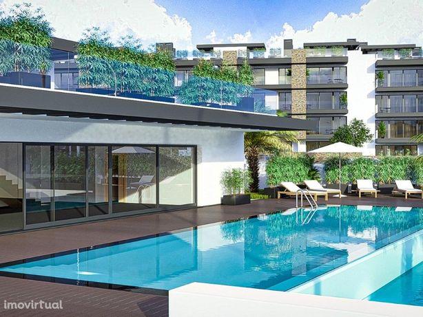Magnífico Apartamento T2 em condomínio de referência, com...
