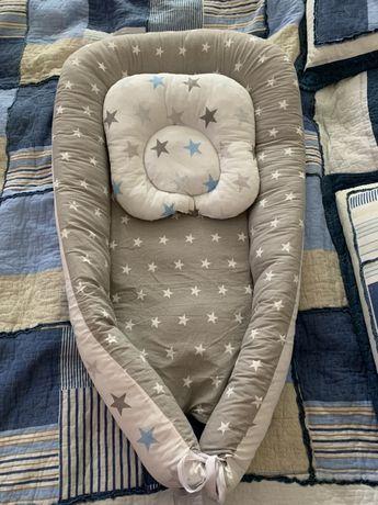 Кокон-гнездышко для сна,для кормления + подушечка