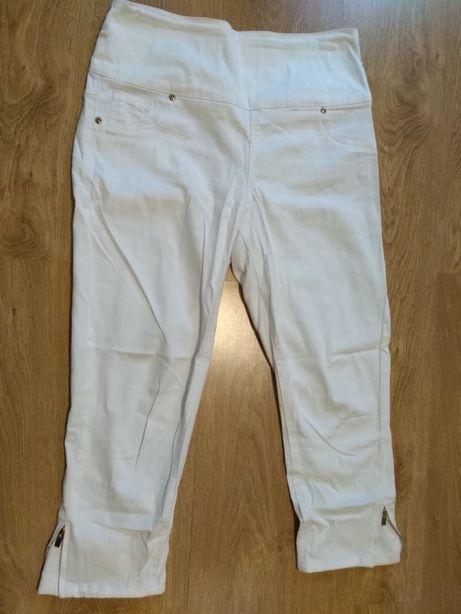 Wyszczuplające spodnie rybaczki 3/4 nogawka r. M