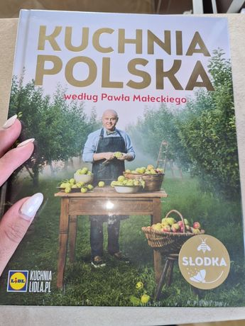 Kuchnia polska lidla książka nowa zafoliowana