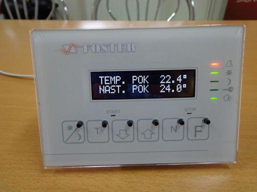 Panel pokojowy , termostat pokojowy Foster