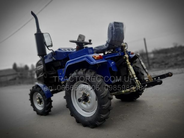 Трактор, минитрактор, мототрактор БУЛАТ Т160 3Т+ трьохточка плуг фреза