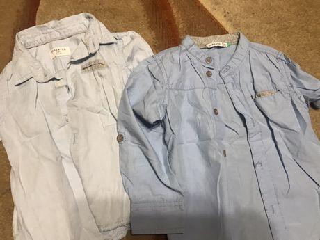 Koszula hm, reserved rozm 86-104