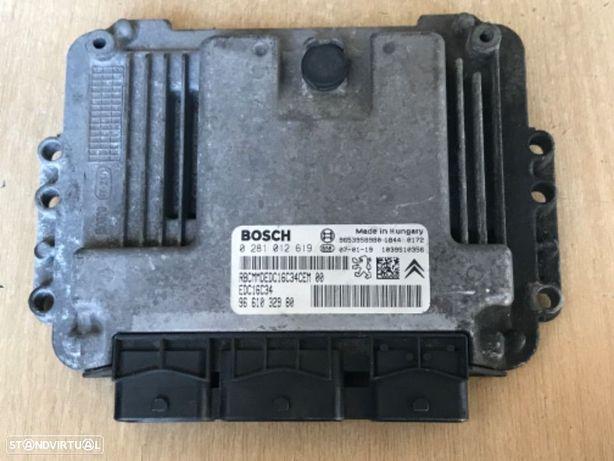 Centralina do Motor  Citroen Berlingo  / Peugeot Partner 1.6 HDI de 05 a 09