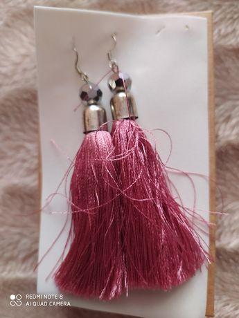 Жіночі сережки китиці серьги