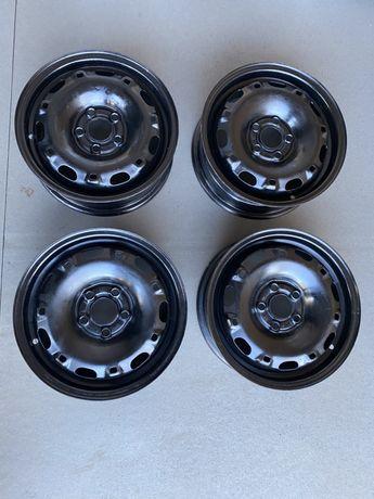 Диски металеві(стальні) 5х100 R14 на Skoda Fabia, VW Polo