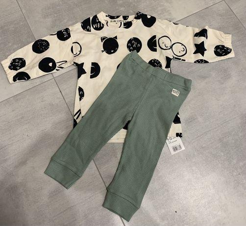 Komplet, spodnie i bluza 9-12, 80cm, mothercare