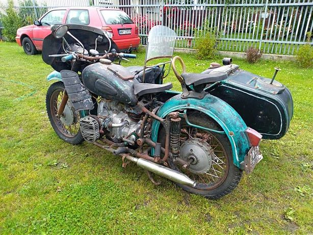 Motocykl K-750. Dniepr,Ural