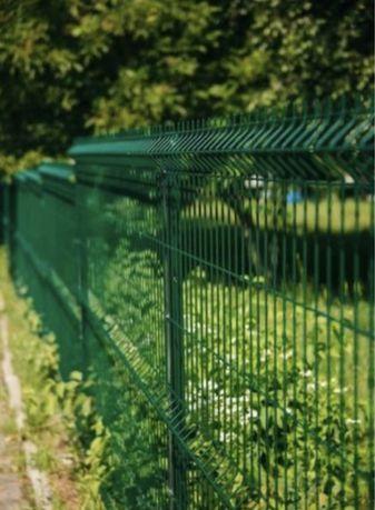 Секционный забор сварная сетка