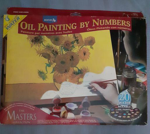 Zestaw do malowania, edukacyjny, Vincent van Gogh