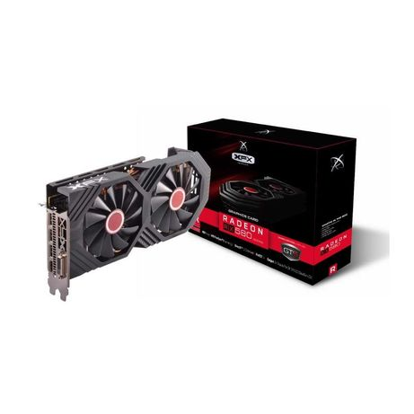 Placa Gráfica XFX Radeon RX 580 GTS XXX  8GB -  AVARIADA mas funcional