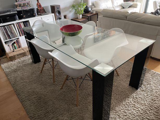 Cadeiras poltrona de jantar replica Eames
