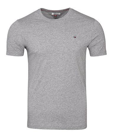 T-shirt Tommy Hilfiger Denim szara męska r.S, M, XL i XXL