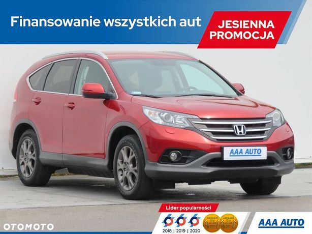 Honda CR-V 2.0 i-VTEC, Salon Polska, 1. Właściciel, Serwis ASO, Klimatronic,