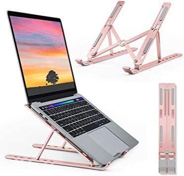 Акция.Регулируемая многоугольная подставка для ноутбука