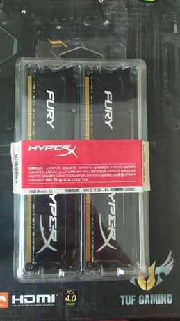 Оперативная память DDR-3 16GB (2x8GB) 1866 MHz HyperX FURY Black