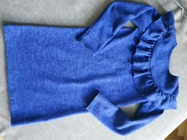Плаття тепле для дівчинки