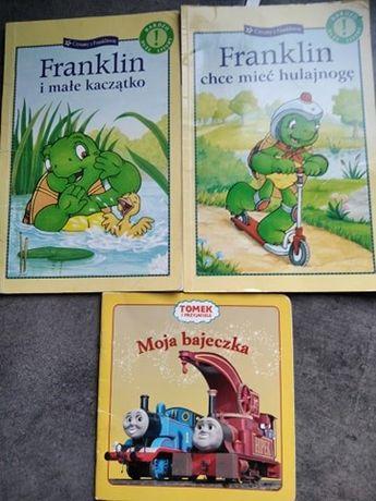 Franklin + Tomek i przyjaciele - 3 bajeczki za 5 zł