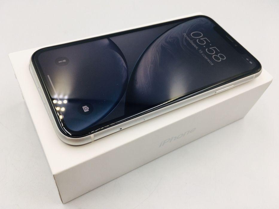 iPhone XR 64GB WHITE • PROMOCJA • GWARANCJA 1 MSC • AppleCentrum Wrocław - image 1