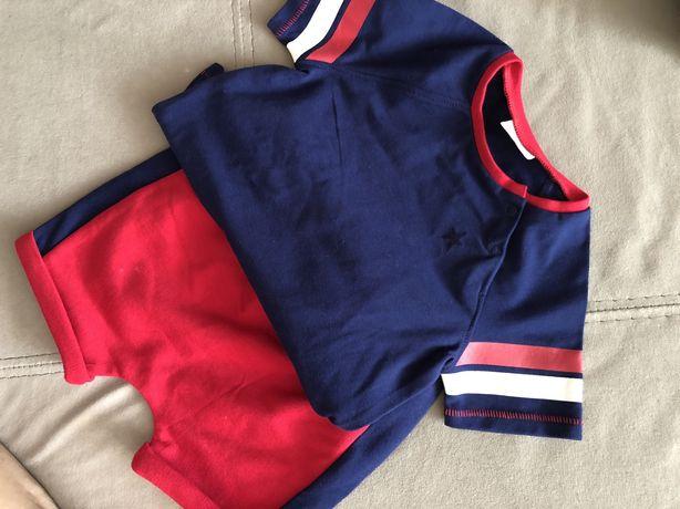 Костюм Next, футболка, шорты, костюм, летний костюм