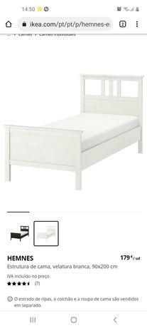 Duas Camas solteiro branca - IKEA