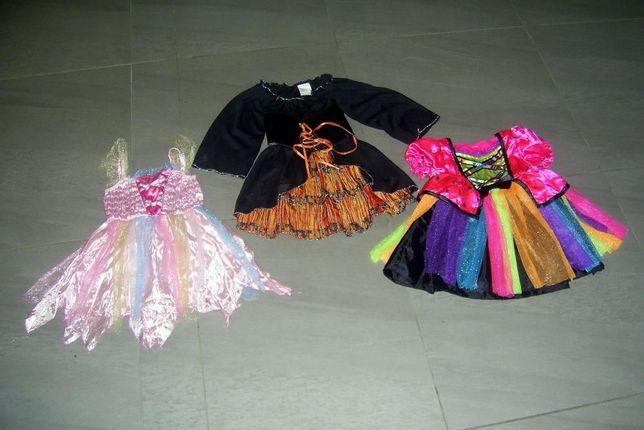 strój karnawałowy sukienki 3-6 lat