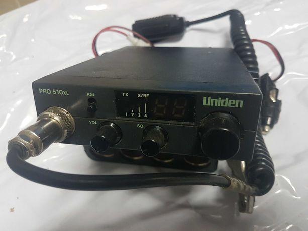 CB radio Uniden PRO 510 XL plus antena President 75 cm